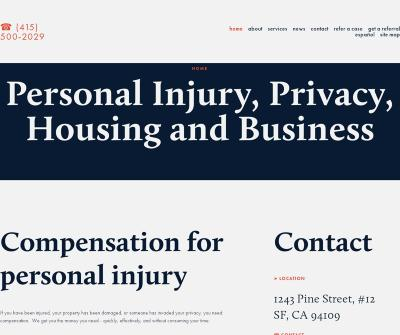 Broomfield Law - Personal Injury Lawyer, Housing, Privacy, Business Attorney, San Francisco CA