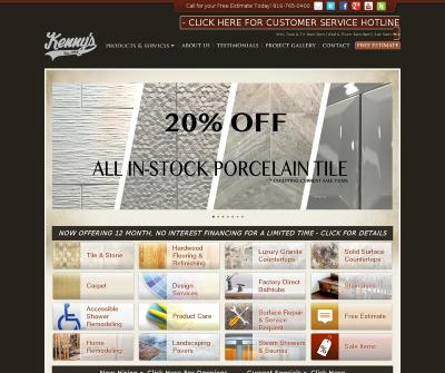 Kenny''s Tile & Floor Covering Inc. Kansas City, KS Hardwood Flooring & Refinishing