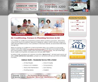Addison Smith Mechanical Contractor, Inc.