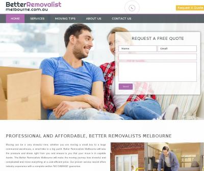 Better Removalists Melbourne