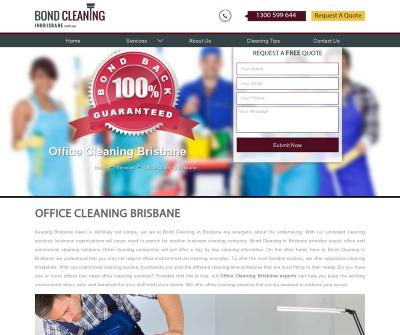 Offices Cleaning - Bond Cleaning In Brisbane