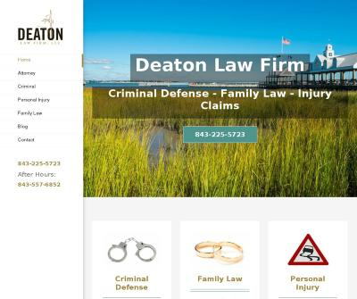 Criminal Defense - Family Law - Injury Claims