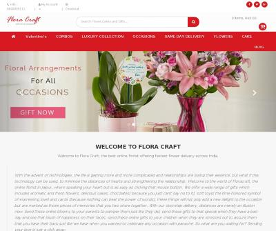 Online Florist in Jaipur by Flora Craft