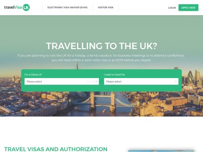 Travel Visa UK