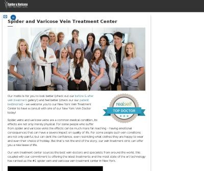 Spider and Varicose Vein Treatment Center Manhattan,NY Sclerotherapy Clarivein