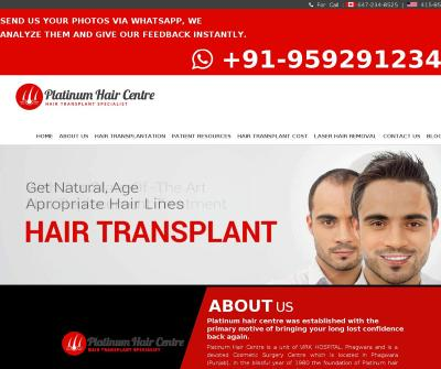 Hair Transplant  in Phagwara, Punjab, India  Follicular Unit Transplantation