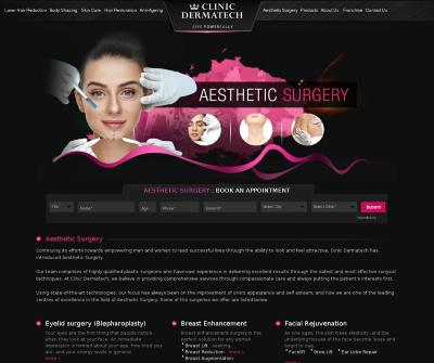 Best Aesthetic/Cosmetic Surgery Clinic in Delhi, India Laser Hair Reduction Body Shaping