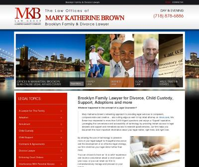 The Law Offices of Mary Katherine Brown Brooklyn,NY Adoption Annulment Child Custody