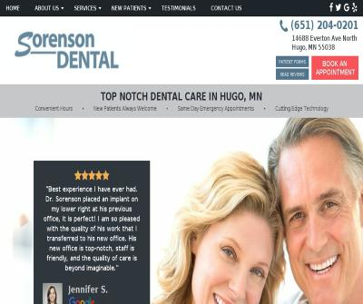 Sorenson Dental Hugo,MN Preventive Dentistry Restorative Dentistry Cosmetic Dentistry