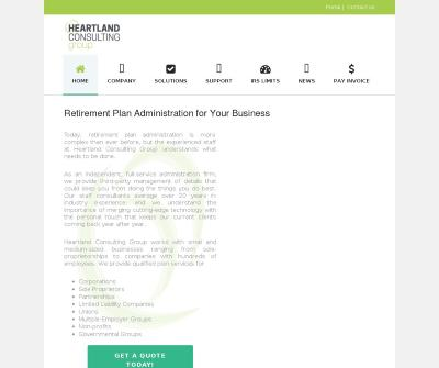 Heartland Consulting Group, Inc. Overland Park, KS Consulting & Plan Design
