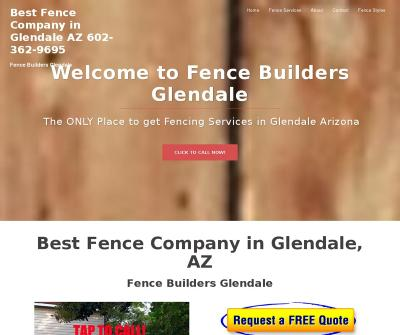 Fence Builders Glendale,AZ Residential Fencing Commercial Fencing Pool Fencing