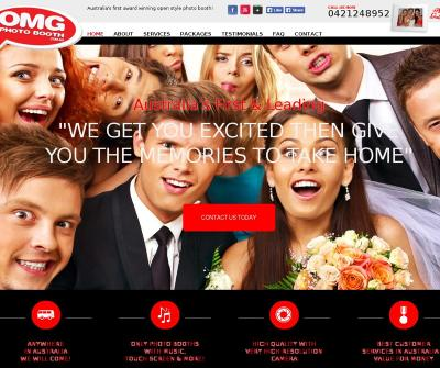OMG Photo Booth Melbourne, Australia Professional DJ Services Photography