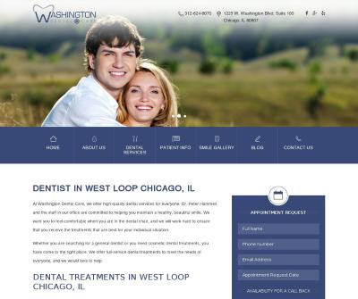 Washington Dental Care Chicago, IL Cosmetic Dentistry Dental Implants Dentures