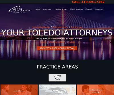Groth & Associates Toledo,OH Personal injury Criminal Defense Family Law