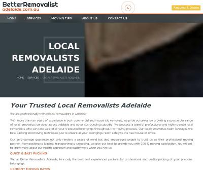 Better Removalists Adelaide, Australia Removalists Packaging Interstate Removal