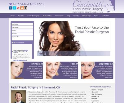 Cincinnati Facial Plastic Surgery Ohio LuxeLift LuxeEyes Fat Transfer Facelift