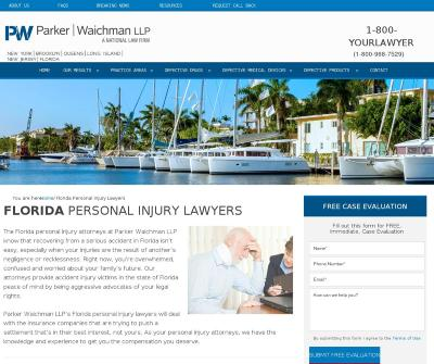 Florida Personal Injury Lawyers - Parker Waichman LLP