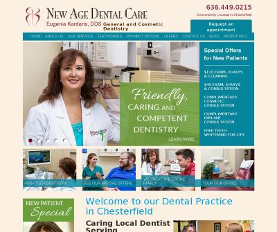 New Age Dental Care Chesterfiled, MO New Patient Exam Cleanings Dental Bridges