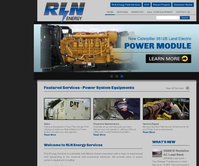 RLN Energy Services Alberta,Canada Generator Rental Combined Heat & Power (CHP)