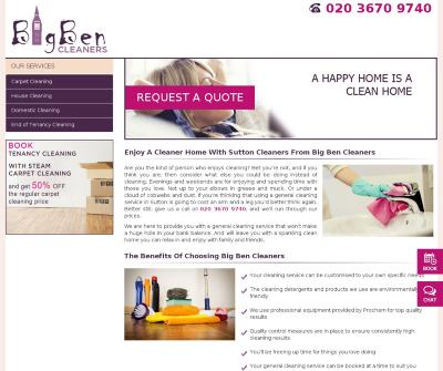 Big Ben Cleaners London,United Kingdom Carpet Cleaning House Cleaning Domestic Cleaning
