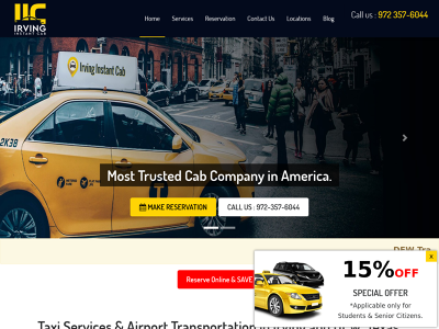 Irving Instant Cab Irving,TX Airport Taxi Town Car Interstate Taxi Long Distance Taxi