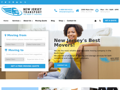 New Jersey Transport - Moving Company NJ | Movers New Jersey