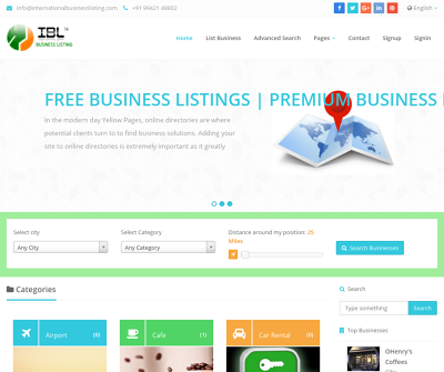International Business Listing Classified | Search and post category top ads