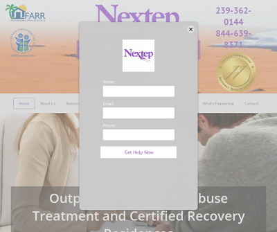 Nextep Palm Beach,FL 12 Step Fellowship Intensive Outpatient Treatment Peer Support Groups