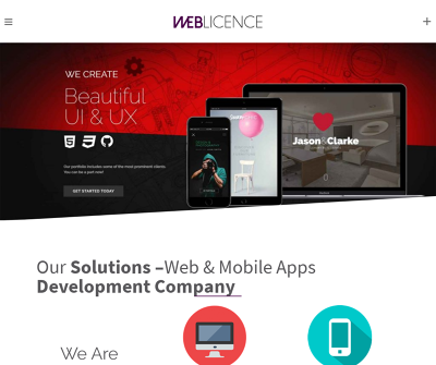Weblicence Solutions - A Web & Mobile Apps Development Company