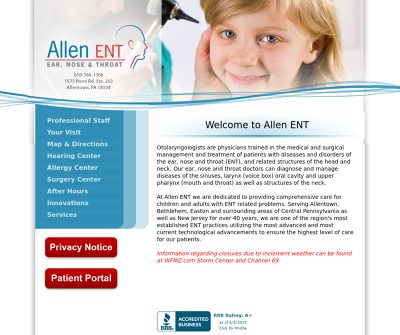Allen Ear Nose & Throat Association