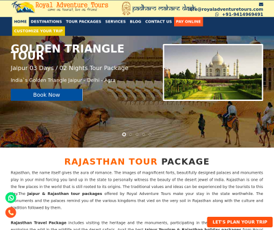 Royal Adventure Tours