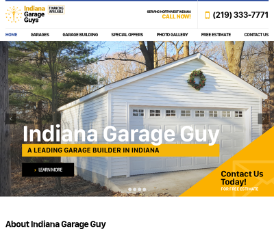 Garage Guys of Indiana, Inc. Hammond,IN 1 Car Garage 2 Car Garage Custom Car Garage