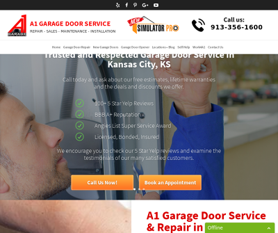 A1 Garage Door Service - Kansas City, KS Garage Door Repair New Garage Door