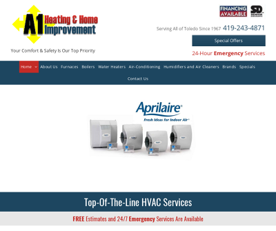 A-1 Heating & Improvement Co