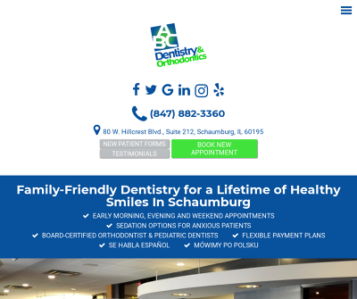 ABC Dentistry & Orthodontics Schaumburg,IL Emergency Dental General Dentistry