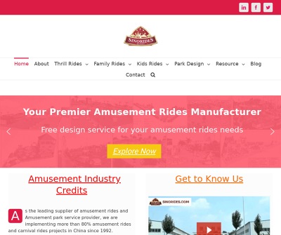 Sinorides: Amusement Rides Manufacturers And Suppliers