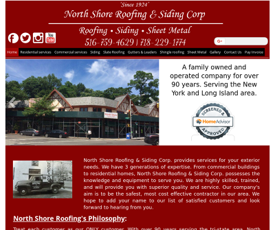 North Shore Roofing & Siding Corp.