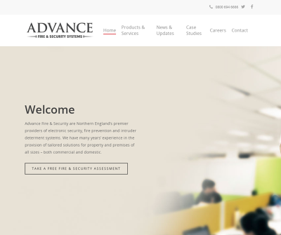 Advance Fire & Security Systems Newcastle-Upon-Tyne,UK Access Control Fire Systems