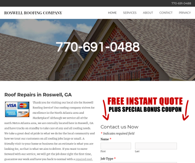 Roswell Roofing Company
