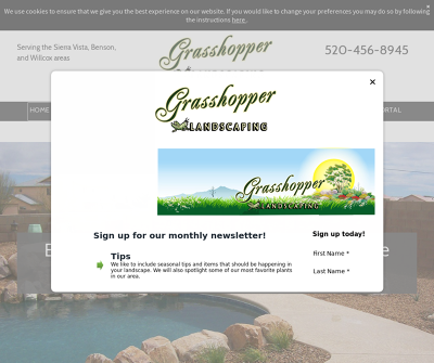 Grasshopper Landscaping & Maintenance LLC Yard Care to Irrigation Service Serving the Sierra Vista, Benson,  and Willcox areas