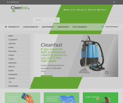 Cleanfast Dublin Residential and Commercial Eco Friendly Cleaning Supplies, Products for Home and Office