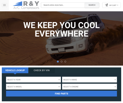 R & Y A/C Compressors - Car AC Parts & Services, Car Air Conditioning and Heating Systems