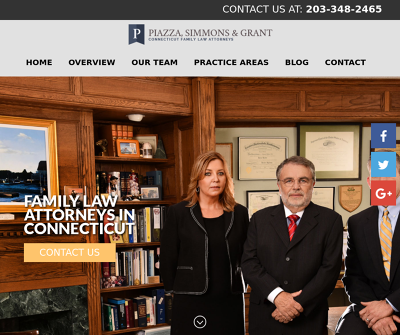 Piazza, Simmons, & Grant Stamford Connecticut Family Law Attorneys