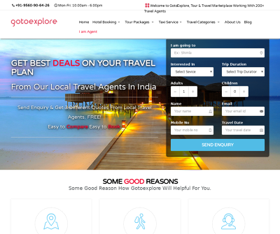 Online Travel Leads Marketplace | Lead generation for travel agents