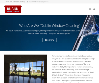 Window Cleaning Dublin  Window Cleaning Services To Domestic & Commercial Customers