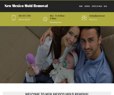 New Mexico Mold Removal Complete Assessment Containment Drying Repair Filtration