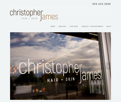 Christopher James Hair+Skin Beauty & Cosmetic New Mexico