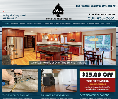 Ace Home Cleaning Carpets, Windows, House Cleaning, & Power Washing Services New York