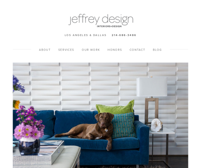 Jeffrey Design LLC Los Angeles Furnishings, Accessories, Custom Furniture, Cabinetry