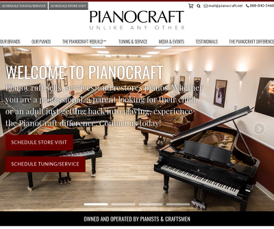 PianoCraft Unlike Any Other